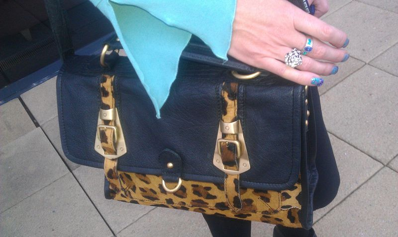 Leopardsatchel